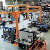 Potences double-bras | Double arm pillar jib cranes